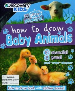 Book How To Draw Baby Animals by Parragon Books
