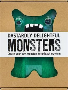 Book DASTARDLY DELIGHTFUL MONSTERS by Books Parragon