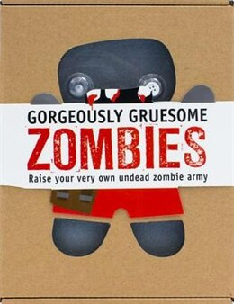 Book GORGEOUSLY GRUESOME ZOMBIES SEWING KIT by PARRAGON BK SERVICE