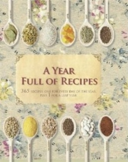 Book Year Full Of Recipes by Parragon Books