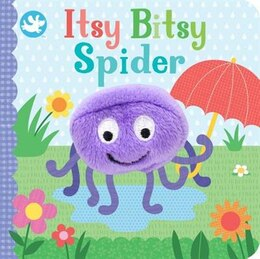 Book ITSY BITSY SPIDER FINGER PUPPET BOOK by Books Parragon