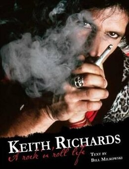 Book KEITH RICHARDS by Bill Milkowski