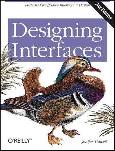 Designing Interfaces: Patterns For Effective Interaction Design de Jenifer Tidwell