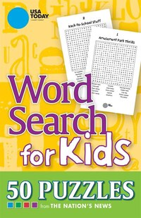 USA TODAY Word Search for Kids: 50 Puzzles