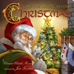 Book Twas The Night Before Christmas by Clement Clarke Moore