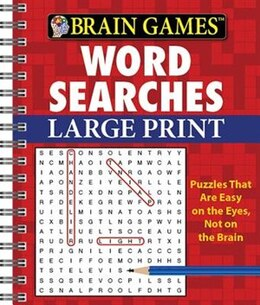 Book Brain Games Lp Word Searches by Publications International