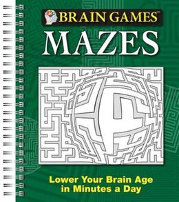 Book BRAIN GAMES MAZES by Publications International