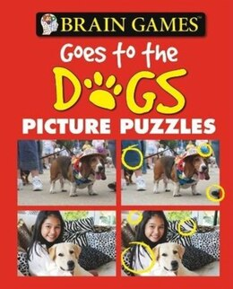 Book BRAIN GAMES PICTURE PUZZLES DOGS by Publications International