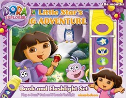 Book BK & FLASHLIGHT DORA LITTLE STARS B by Interna Publs