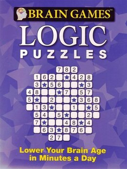 Book Brain Games Logic Puzzles by Publications International