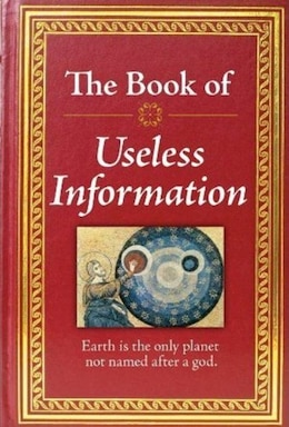 Book BK OF USELESS INFORMATION by PUBLICATIONS INTERNATIONAL LTD