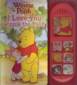 Book Play A Sound I Love You Winnie The Pooh by Publications International