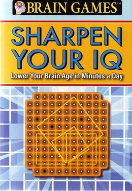 Book Brain Games Sharpen Your Iq by Na