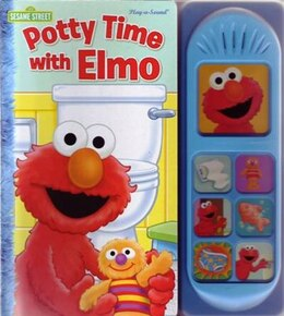 Book Play A Sound Potty Time With Elmo by Na