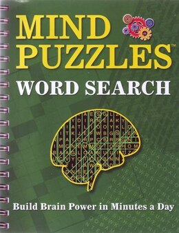 Book Mind Puzzles Word Search by Publications International
