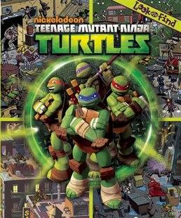 Teenage Mutant Ninja Turtles Look & Find