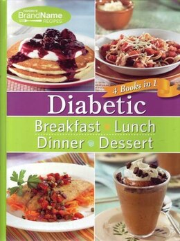 Book Diabetic Food 4 In 1 by Publications International