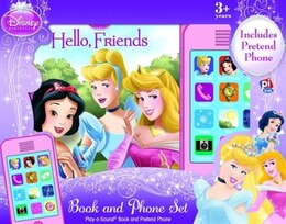 Book Disney Princess Bk & Phone Hello Friends by Disney