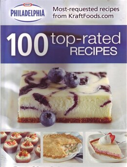 Book PHILADELPHIA 100 TOPRATED RECIPES by The Editors Of From