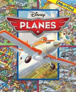 Book Disney Planes Look And Find by Disney