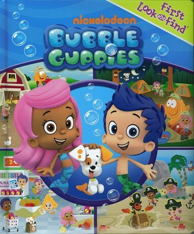 My First Look And Find Bubble Guppies, Book by Nick Jr. (Paperback ...