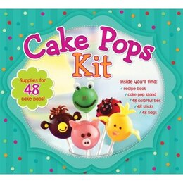 Book CAKE POPS KIT by Publications International