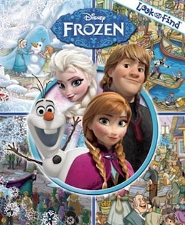 Book Disney Frozen Look And Find by Disney