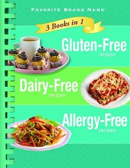 Book 3 IN 1 GLUTEN FREE DAIRY FREE ALLERGY by Test Kitchens P.i.l.
