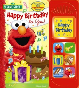 Book PLAY A SOUND ELMO HAPPY BIRTHDAY by Street Sesame