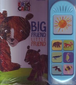 Book PLAY A SOUND ERIC CARLE BIG FRIEND LITTL by Carle Eric