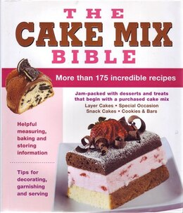 Book CAKE MIX BIBLE by Publications International