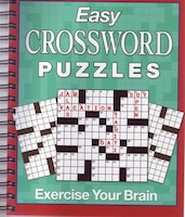 BRAIN GAMES EASY XWORD PUZZLES