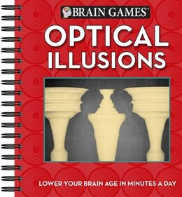 Book BRAIN GAMES OPTICAL ILLUSIONS by The Editors Of From