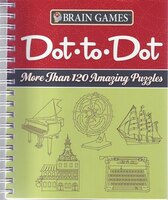 Book BRAIN GAMES DOT TO DOT by The Editors Of From