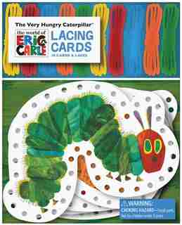 The Very Hungry Caterpillar Lacing Cards by Eric Carle