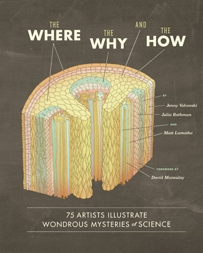 The Where, the Why, and the How: 75 Artists Illustrate Wondrous Mysteries of Science de Matt Lamothe