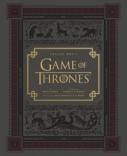 Book Inside HBO's Game of Thrones: Seasons 1 & 2 by Bryan Cogman