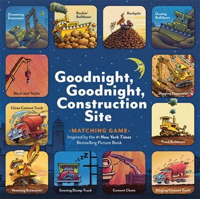 Goodnight, Goodnight, Construction Site Matching Game by Sherri Duskey Rinker