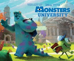 Book The Art Of Monsters University by Karen Paik