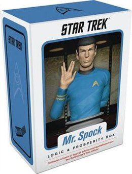Book Mr. Spock: Logic & Prosperity Box by Chronicle Books