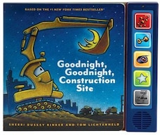 Goodnight  Goodnight Construction Site Sound Book: (construction Books For Kids, Books With Sound…