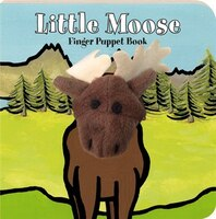 Little Moose: Finger Puppet Book