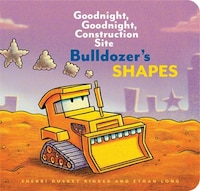 Bulldozer's Shapes: Goodnight, Goodnight, Construction Site (kids Construction Books, Goodnight…