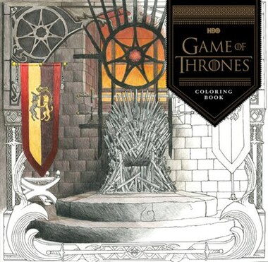 Hbos Game Of Thrones Coloring Book By