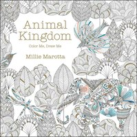 Adult Colouring Books Enchanted Forest Animal Kingdom Fantastic