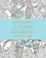 Millie Marotta's Animal Kingdom: Set Of 3 Journals: Set Of 3 Journals
