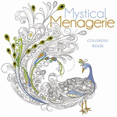Mystical Menagerie Coloring Book by Lark Crafts