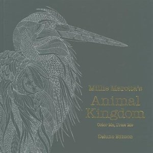 Millie Marottas Animal Kingdom Deluxe Edition Color Me Draw Me Book By Millie Marotta