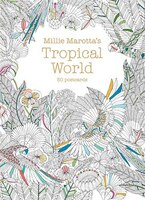 Millie Marotta's Tropical World (postcard Box): 50 Postcards