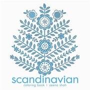 Book Scandinavian Coloring Book by Zeena Shah